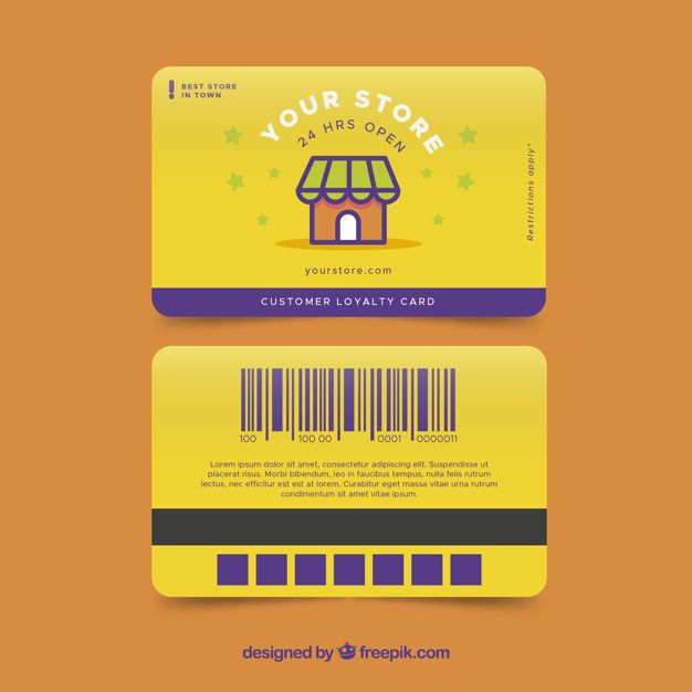 Download Colorful Shop Loyalty Card Template For Free Loyalty Card Template Loyalty Card Design Loyalty Card