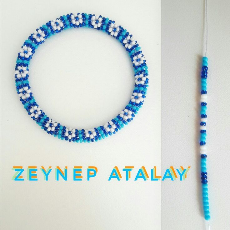 #zeynepatalay #kumboncuk #tığişi #bileklik #altılı #around6bracelet #handmade #glassbeads #diy. – Zeynep Atalay Bracelet