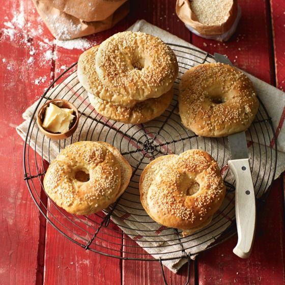 Huisgemaakte bagels