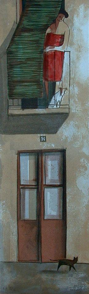 Lithographs Past - Didier Lourenço