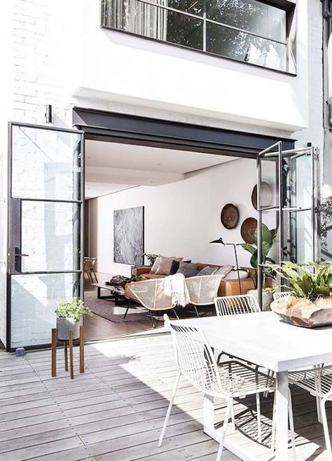 Love the inside/outside patio