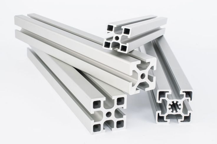 Modułowe profile aluminiowe Profile, Brushing teeth, System
