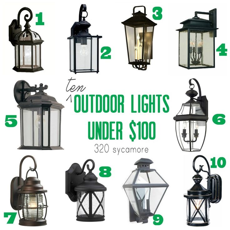 10 best soffit lights images on pinterest outdoor for Outdoor garage light fixtures