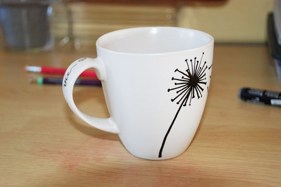Personalized Mug; I like the design on this one.