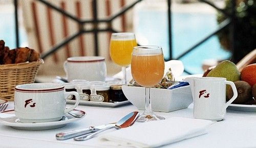 Breakfast at Fouquet's Cannes
