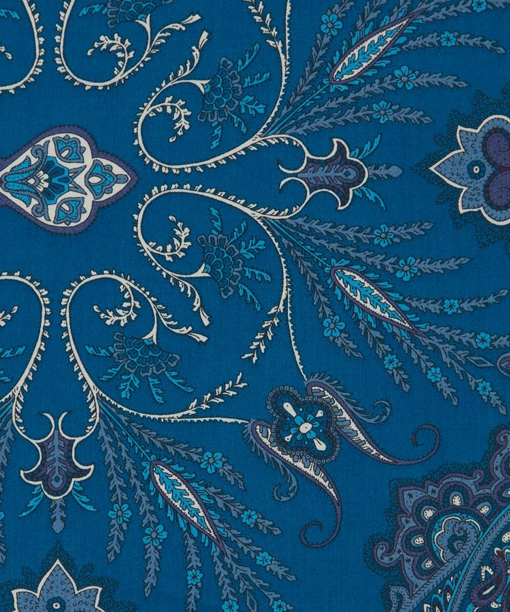 Liberty Art Fabrics Lady Paisley B Tana Lawn Cotton | Fabric | Liberty.co.uk