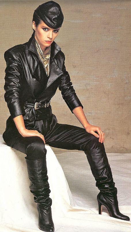 Sheena Easton 2001 - Black Leather Suit