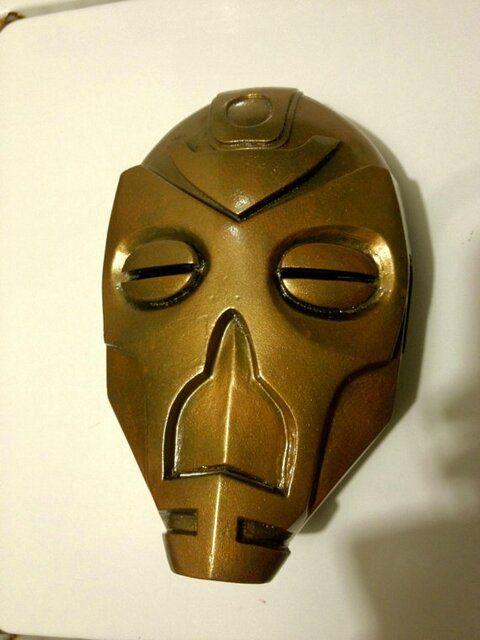 life size skyrim krosis dragon priest mask