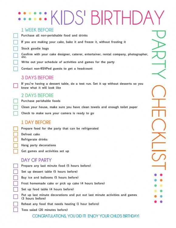 kids birthday party checklist page 1http://party.catchmyparty.com/files/birthday/birthday-party-checklist.pdf