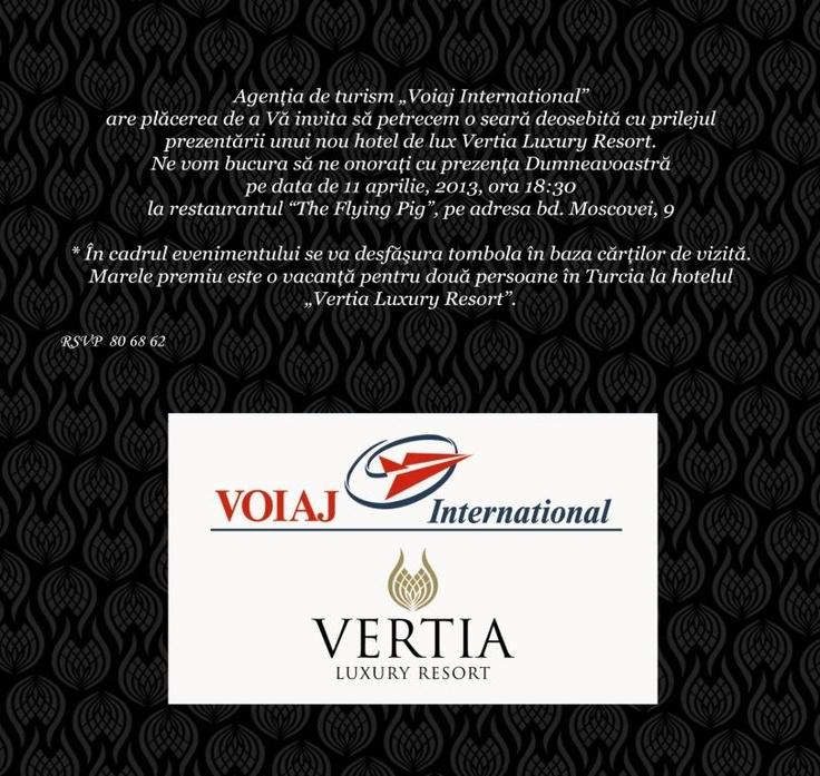 Vertia Luxury Night @Matty Chuah Flying Pig in Kişinev 11.04.2013