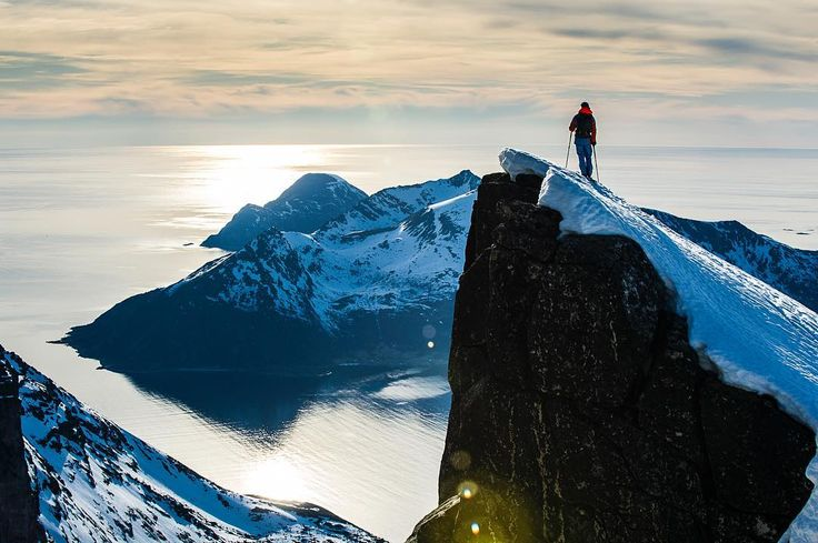 Incredible view from the top of the mountain!  Photo from @ jespermolinphotography Instagram