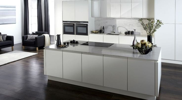 Urban Gloss Dove Grey- From £1,550 - Special Offers - Kitchen styles