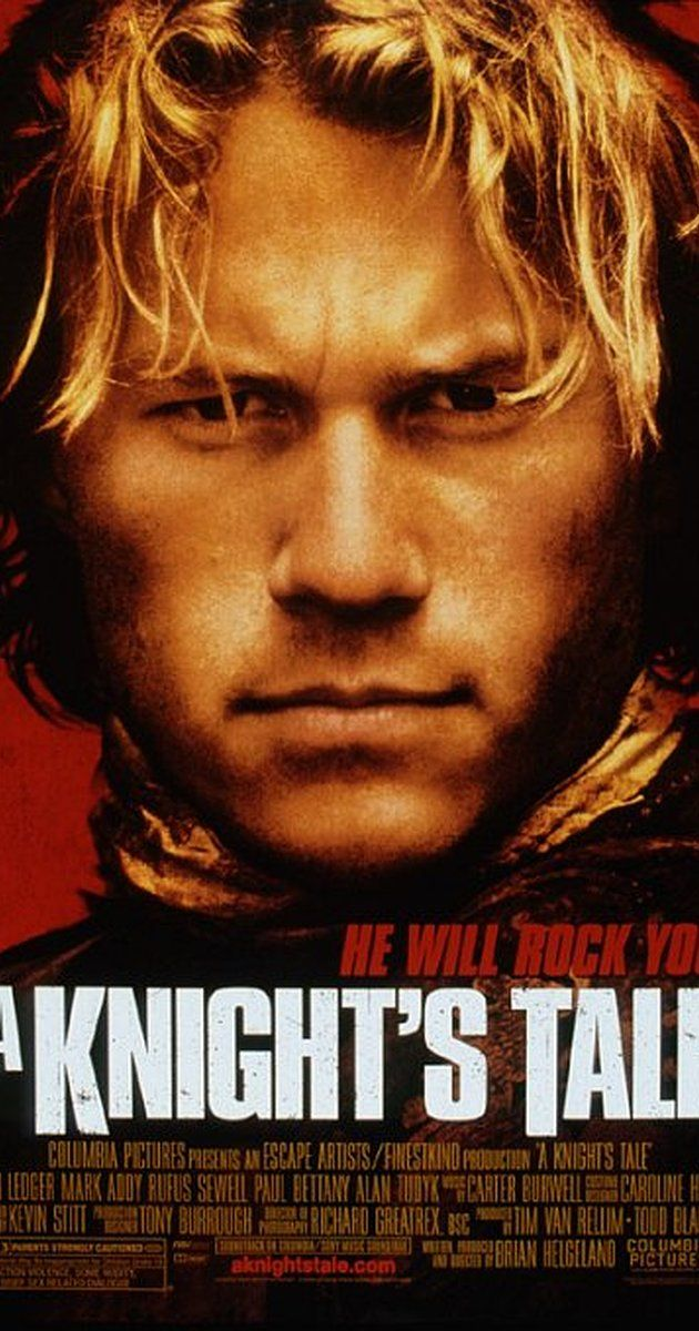 IMDB Rating: 7/10. After his master dies, a peasant squire, fueled by his desire for food and glory, creates a new identity for himself as a knight. 2001.