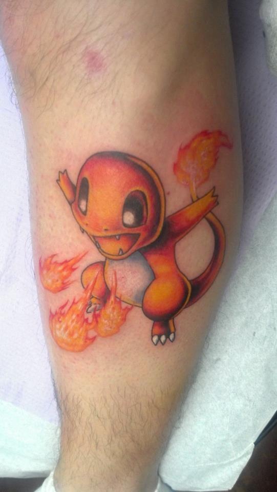 Charmander :)   Marc's Tattoo!   Pinterest