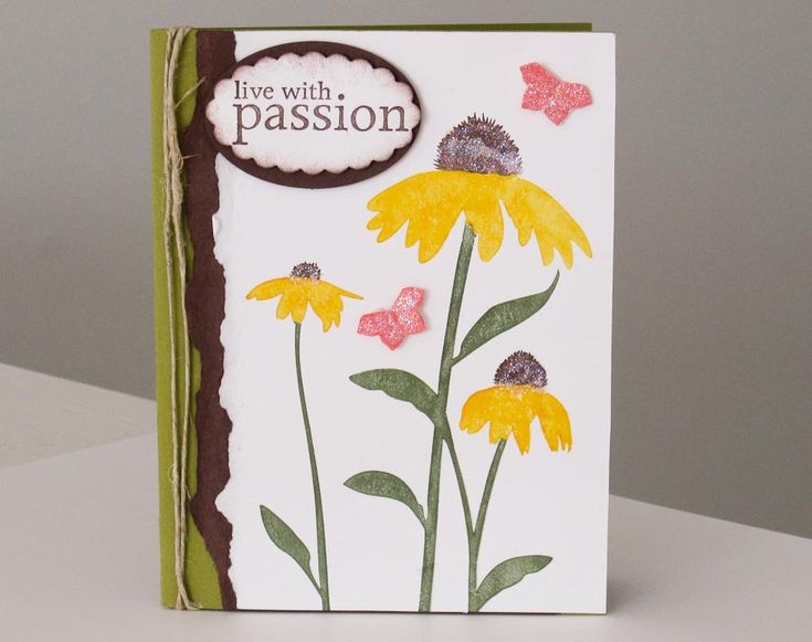 Card Making Ideas Nature Part - 35: Stampin Up Demonstrator Brandy Cox, From Huntersville, NC Shares A Card  Featuring The Inspired By Nature Stamp Set!