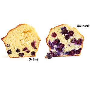 How to Avoid Sunken Blueberries < Common Cooking Mistakes: Cooking Tips and