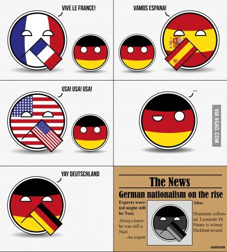 German nationalism on the rise.