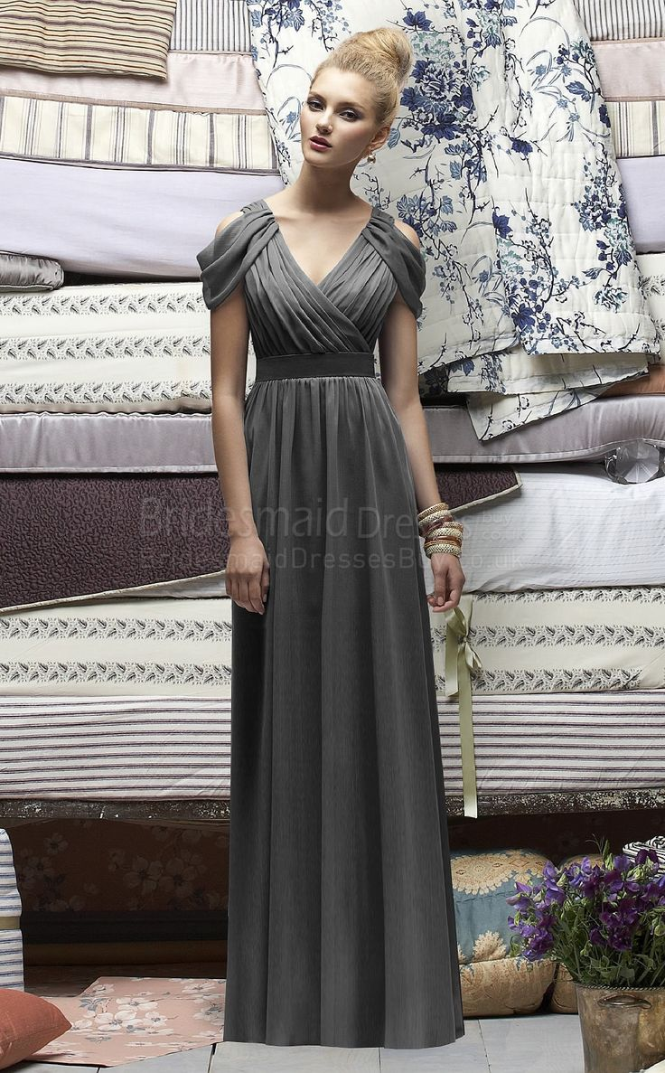 176 best bridesmaids dresses images on pinterest bridesmade 2015 engrossing v neck short sleeves floor length chiffon with draped empire bridesmaid dresses ombrellifo Choice Image