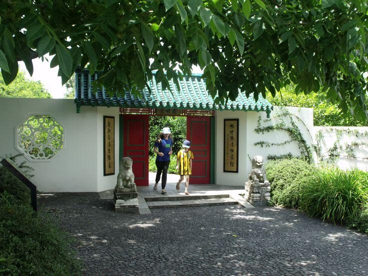 Entrance to the Chinese Scholars Garden, Hamilton Gardens