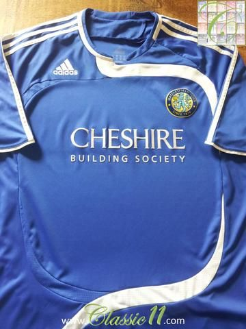Relive Macclesfield Town's 2008/2009 season with this original Adidas home football shirt.