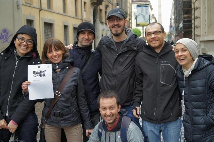 Centro Storico di Torino! #InvasioniDigitali #InvasioneCompiuta
