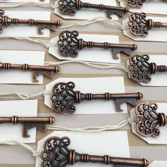 150 Vintage Key Bottle Openers with tags by HandStampOlogy