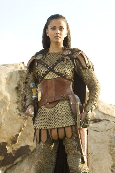 Aishwarya Rai Bachchan from The Last Legion - Just adding it is nice to see realistic female armour.