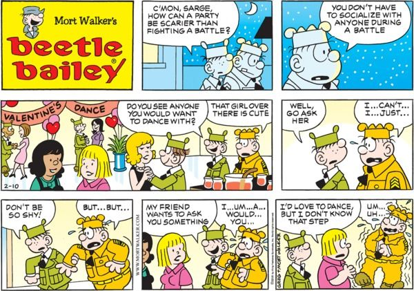 Comic beetle about whos the bailey strip assured, what all