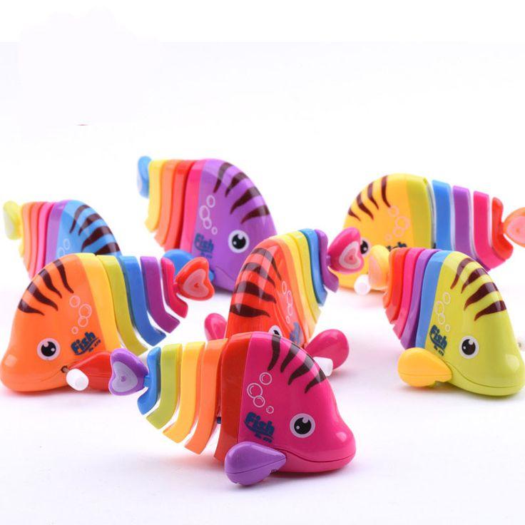 New Gió Lên Đồ Chơi cá Đầy Màu Sắc chain clockwork đồ chơi đồ chơi trẻ em clockwork Bé đuôi cá Giá Thấp W20