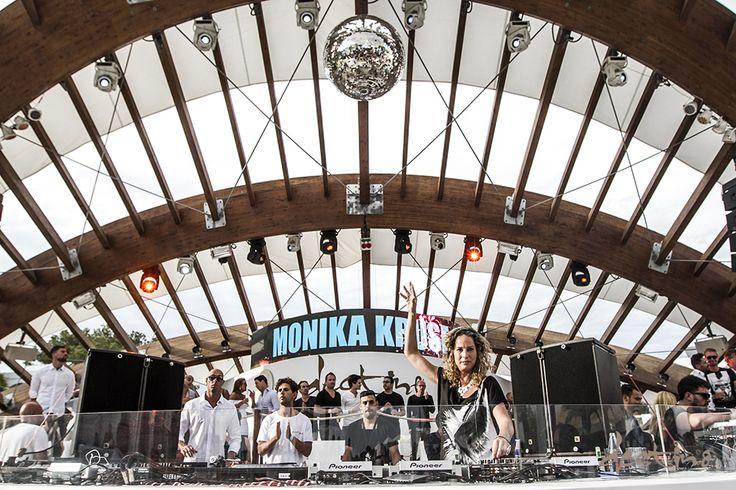 Monika Kruse at Destino Ibiza Opening 2015