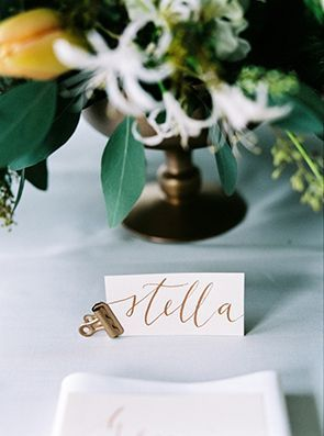 place card with a bulldog clip find this pin and more on wedding reception place card holders