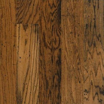 "Bruce Flooring American Originals Lock and Fold 5"" Engineered Oak Flooring in Durango"