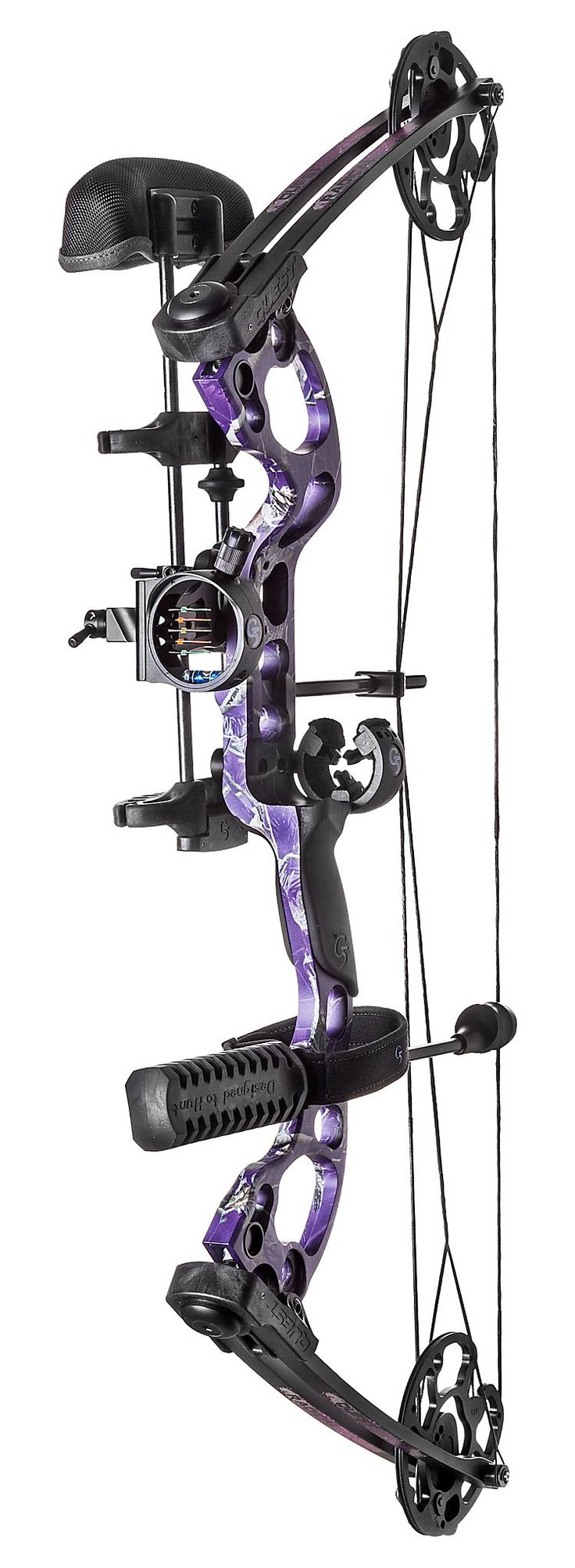 Archi (9)Purple! Quest by G5® Radical Compound Bow Package | Bass Pro Shops