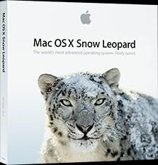Mac OS snow leopard 10.+
