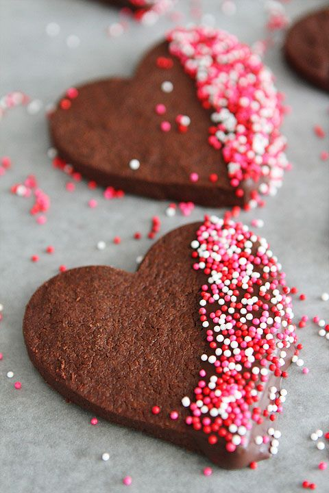 Chocolate Shortbread Cookie Recipe | Two Peas and Their Pod