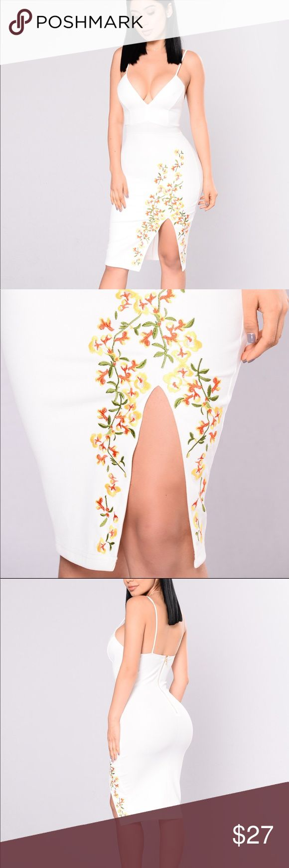✨Preblack frieday sales✨Cute dress Are taking any offers (no trades) Fashion Nova Dresses Midi