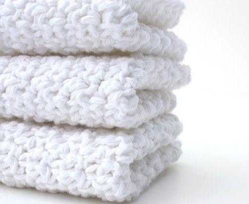 Interior White~Texture~~~: Dishcloths Kitchen, Crochet Ideas, Cotton Dishcloths, Dishcloths Handmade, Dishcloths Cotton, Crochet Dishcloths, Cozy White, Color White