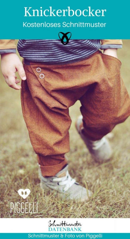 Warme Kleidung für Kinder nähen / 33 gratis Schnittmuster