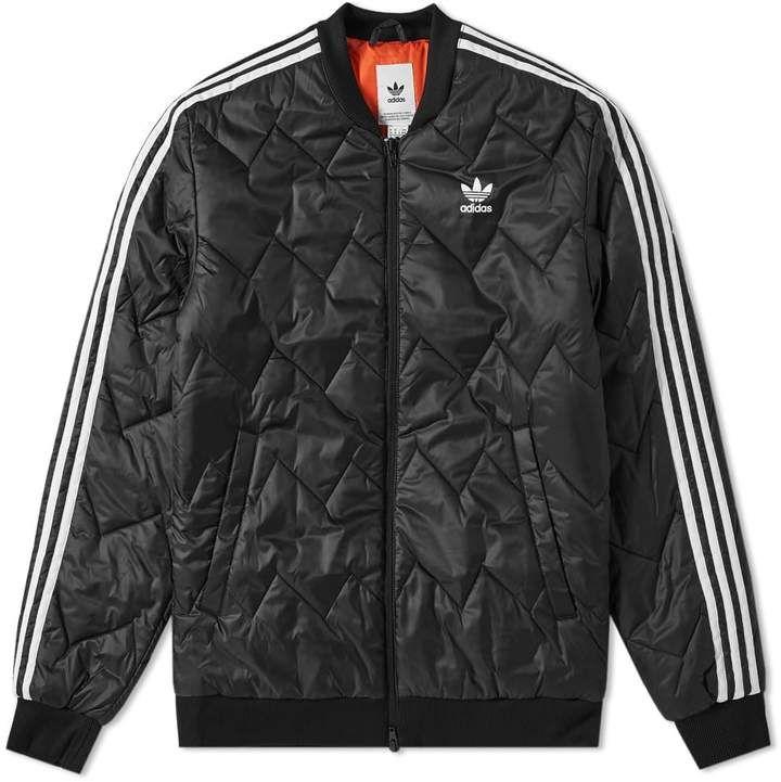 Comedia de enredo Disgusto Más lejano  Adidas SST Quilted Jacket | Quilted jacket, Adidas fashion, Adidas  originals jacket