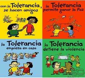 16 de Noviembre – Día Internacional para la Tolerancia – Qué es la Tolerancia – Somos Tolerantes http://www.yoespiritual.com/reflexiones-sobre-la-vida/16-de-noviembre-dia-internacional-para-la-tolerancia-que-es-la-tolerancia.html