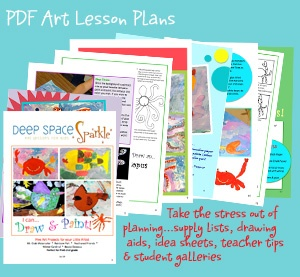 Art lesson plans from an elementary school art teacher