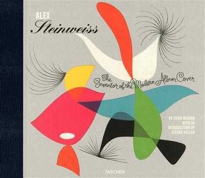 Alex Steinweiss : the inventor of the modern album cover -  Kevin Reagan - Librairie Mollat Bordeaux #livre #book #musique #Steinweiss #illustration #covers #librairie #mollat