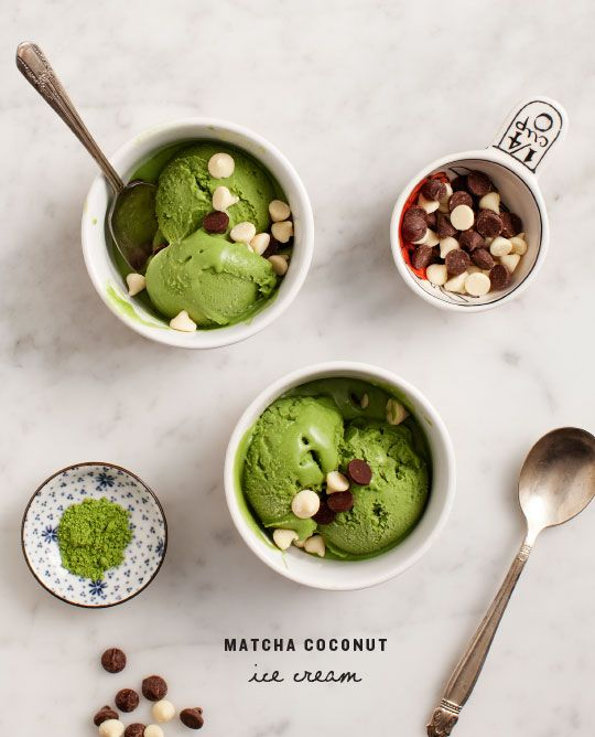 Matcha Coconut Ice Cream Recipe
