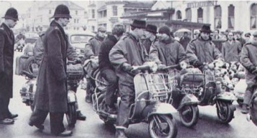 Brighton mods in Brighton SOURCE at www.brightonsource.co.uk Brighton's best listings, music and culture magazine