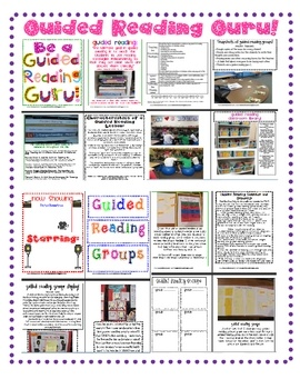 An invaluable resource for any classroom teacher who teaches guided reading, uses literature groups, or loves reading workshop! Inspired by Fountas...