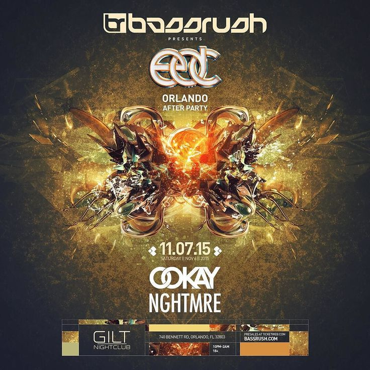 Day 2 of EDC just got a lot more LIT!! Come party at Gilt Nightclub directly after with OOKAY and NGHTMRE! Don't miss this Orlando! Tickets available at http://ift.tt/1Dl673t! @ookayx @nghtmre @gilt_nightclub @alliance_events #opticmusicgroup #optic #omg #giltnightclub #gilt #giltgirls #ookay #Nghtmre #edc2015 #edcorlando #edm #ucf #orlando #downtownOrlando #whats2hot #worthdoing by opticmusicgroup - #giltnightclub #giltorlando #aperturestudiosmedia #edm #orlando #orlandonightlife