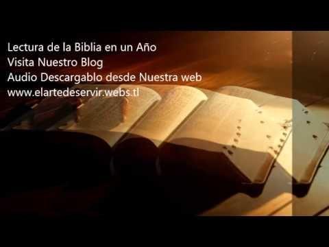 Lectura de la Biblia en un año (Enero 7 Biblia en Audio NVI)   LECTURA DE LA BIBLIA EN UN AÑO VÍDEO ENERO 7 LISTO  VER EL PROGRAMA Y DESCARGARLO DESDE  LOS LINK DEL VÍDEO   DISFRUTENLO
