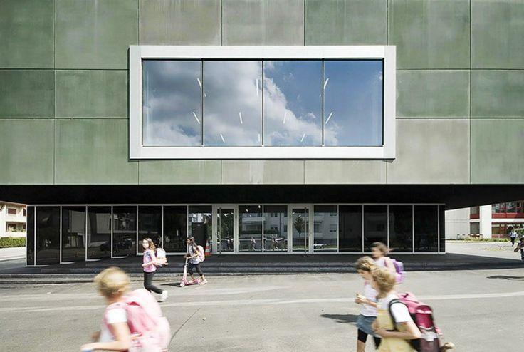 E2A Piet Eckert und Wim Eckert Architekten, Radek Brunecky · School Centre, Opfikon