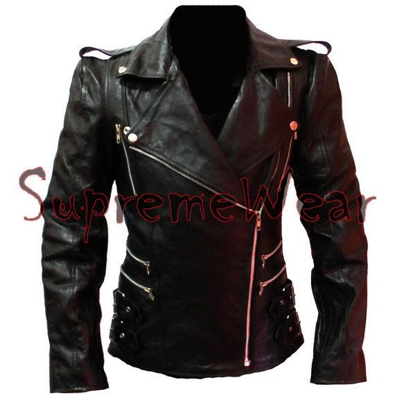 New Handmade Women Front Multi Zippers Leather Jacket, Women leather jacket, Leather jacket for women