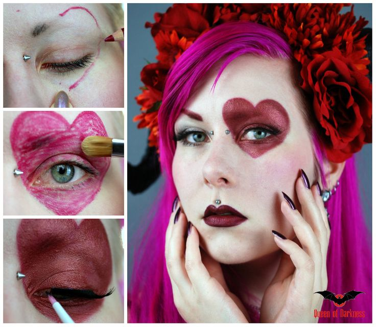 A gothic romantic makeup tutorial by Karoliina! Choose to be original and he will surely remember this Valentine's Day!